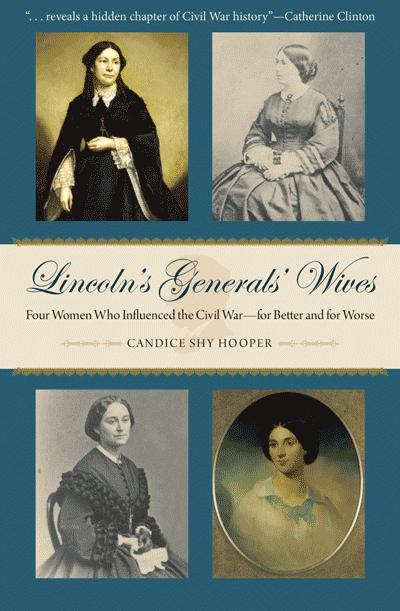 cover of Lincoln's Generals' Wives